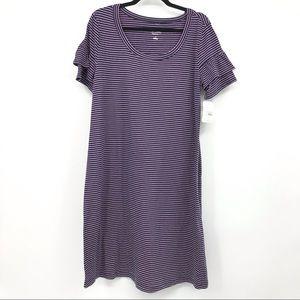 NEW Isabel Midi Dress Maternity Size Medium Stripe